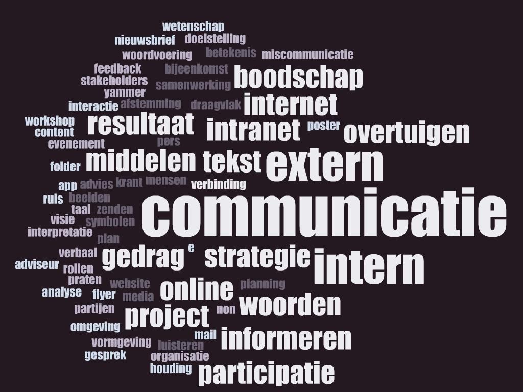 middelen interne communicatie